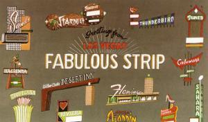 Fabulous Strip, Las Vegas Hotel Signs, Nevada