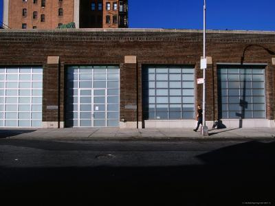Facade and Entrance of the Gagosian Gallery in Soho-Angus Oborn-Photographic Print