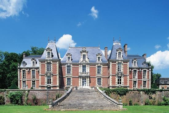 Facade, Chateau De Suzanne--Giclee Print