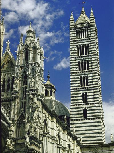Facade, Dome and Bell Tower of Duomo Santa Maria Del Fiore, Florence-Gjon Mili-Photographic Print