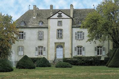 Facade of a Castle, Chateau Du Chassan, Auvergne, France--Photographic Print