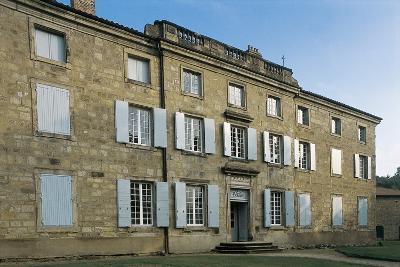 Facade of a Castle, Les Bruneaux Castle, Firminy, Rhone-Alpes, France--Photographic Print