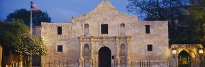 Facade of a Church, Alamo, San Antonio, Texas, USA