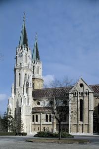Facade of a Church, Klosterneuburg, Austria