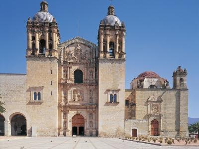 Facade of a Church, Santo Domingo Church, Oaxaca, Mexico--Photographic Print