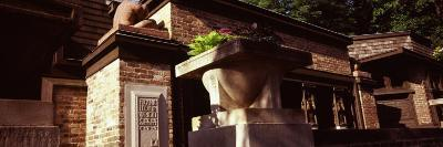 Facade of a House, Frank Lloyd Wright Home and Studio, Oak Park, Cook County, Illinois, USA--Photographic Print