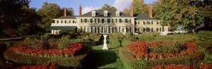 Facade of a House, Hildene Home of Robert Todd Lincoln, Manchester, Vermont, USA
