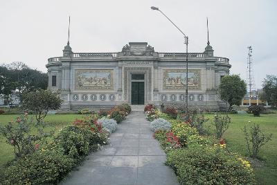 Facade of a Museum, Lima, Peru--Giclee Print