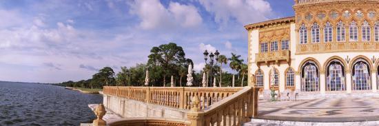 Facade of a Museum, Ringling Museum of Art, Ca D'Zan, Sarasota, Florida, USA--Photographic Print