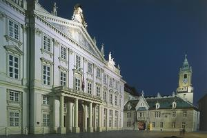 Facade of a Palace, Primate's Palace, Bratislava, Slovakia
