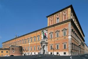 Facade of a Palace, Quirinal Palace, Rome, Lazio, Italy