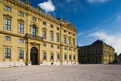 Facade of a Palace, Wurzburg Residence, Wurzburg, Lower Franconia, Bavaria, Germany--Photographic Print