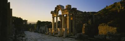 Facade of a Temple, Hadrian Temple, Ephesus, Turkey--Photographic Print