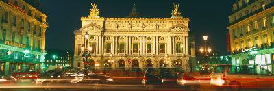 Facade of an Opera House, Palais Garnier, Paris, France--Photographic Print