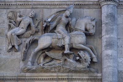 Facade of Angouleme Cathedral, Angouleme, Poitou-Charentes, France--Giclee Print