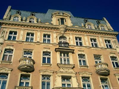 Facade of Art-Nouveau Building, Lodz, Lodzkie, Poland-Krzysztof Dydynski-Photographic Print
