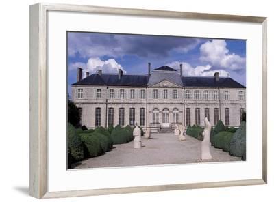 Facade of Bishop's Palace-Robert de Cotte-Framed Giclee Print