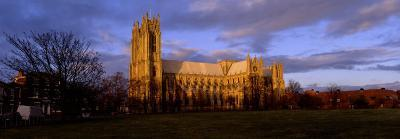 Facade of Cathedral, Beverley Minster, Beverley, Yorkshire, England, United Kingdom--Photographic Print