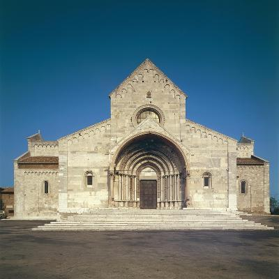 Facade of Cathedral of San Ciriaco, Ancona, Italy, 11th-12th Century--Giclee Print