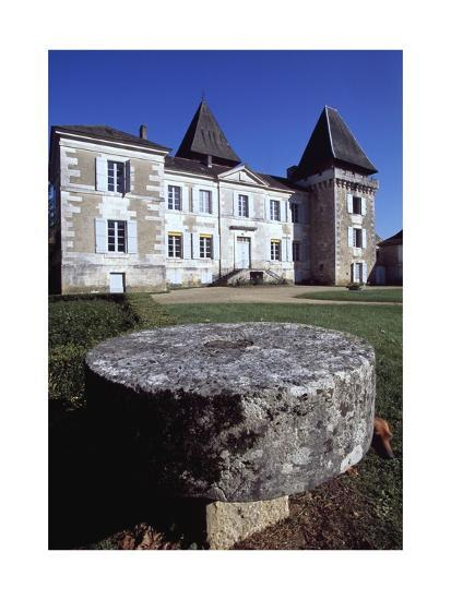 Facade of Chateau Conty, Coulaures, Dordogne, Aquitaine, France--Giclee Print