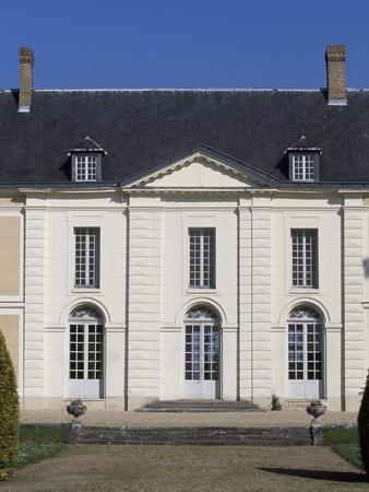 Facade of Chateau De Brou--Giclee Print