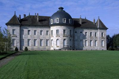 Facade of Chateau De Moncley, 1778-1790-Claude Bertrand-Giclee Print