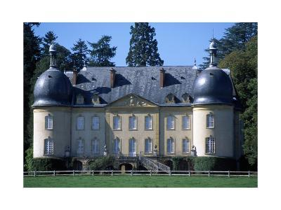 Facade of Chateau De Rambuteau Near Ozolles, Burgundy, France, 18th-19th Century--Giclee Print