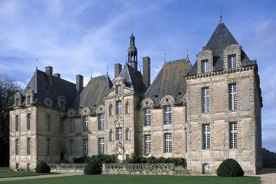 Facade of Chateau De Saint-Loup, Saint-Loup-Lamaire, Poitou-Charentes, France--Giclee Print