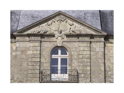 Facade of Chateau De Tregranteur, Guegon, Brittany, Detail, France, 18th-19th Century--Giclee Print