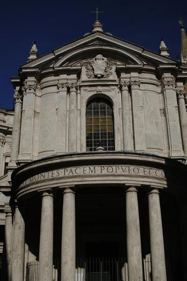 Facade of Church of Our Lady of Peace, Rome--Giclee Print