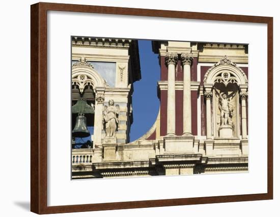 Facade of Church of San Sebastiano--Framed Giclee Print
