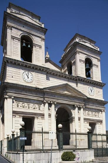 Facade of Church of St Isidore--Giclee Print
