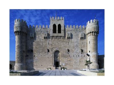 Facade of Citadel of Qaitbay--Giclee Print