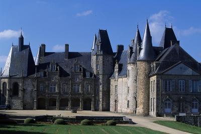 Facade of Rocher Castle--Giclee Print