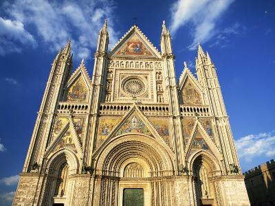 Facade of the Cathedral, Orvieto, Umbria, Italy, Europe-Tomlinson Ruth-Photographic Print