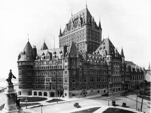 Facade of the Chateau Frontenac