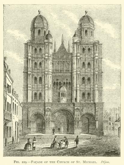 Facade of the Church of St Michael, Dijon--Giclee Print