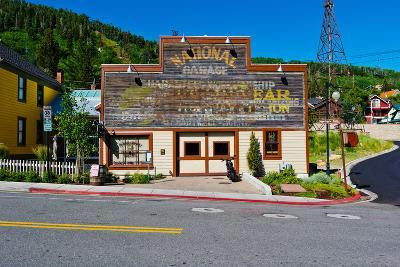 Facade of the High West Distillery Building, Park City, Utah, USA--Photographic Print