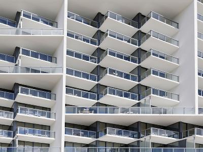 Facade of the Luxury Hotel 'W', 22nd Street, Miami Beach, Florida, Usa-Axel Schmies-Photographic Print