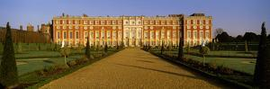 Facade of the Palace, Hampton Court, Richmond-Upon-Thames, London, England