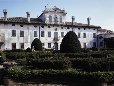 Facade of Villa De Claricini Dornpacher, Bottenicco, Friuli-Venezia Giulia, Italy--Giclee Print