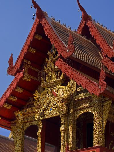 Facade of Wat Phra Singh Temple, Chiang Mai, Chiang Mai Province, Thailand, Southeast Asia, Asia-Ben Pipe-Photographic Print