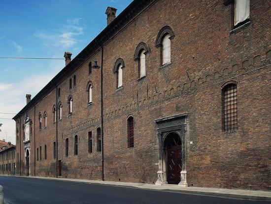 Facade, Palazzo Schifanoia--Giclee Print