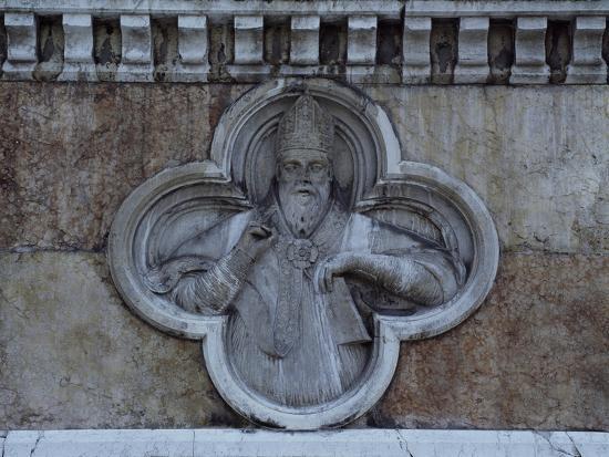 Facade Relief from San Petronio--Giclee Print
