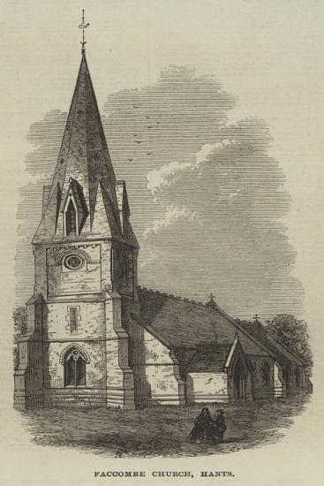 Faccombe Church, Hants--Giclee Print