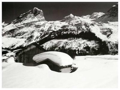 Face a la Montagne--Art Print