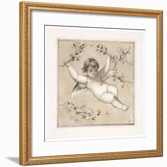Face d'Ange-Pascal Cessou-Framed Art Print