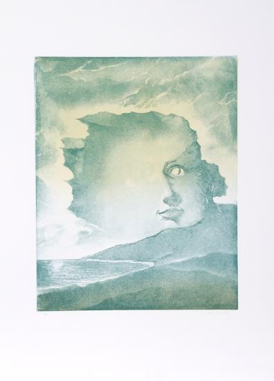 Face in Mountains-Hank Laventhol-Limited Edition