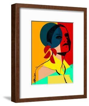 Face Off No. 1-Erin K. Robinson-Framed Art Print