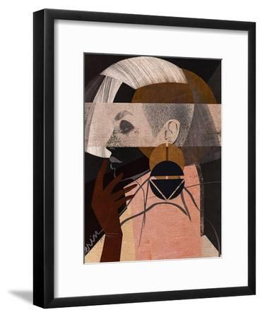 Face Off No. 2-Erin K. Robinson-Framed Art Print